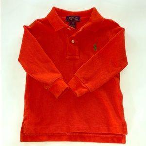Polo Ralph Lauren Boys Long Sleeve Polo size 12M